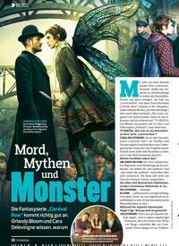 Titelbild der Ausgabe 24/2019 von SERIE: Mord, Mythen und Monster. Zeitschriften als Abo oder epaper bei United Kiosk online kaufen.