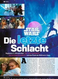 Titelbild der Ausgabe 26/2019 von KINO: STAR WARS Die letzte Schlacht. Zeitschriften als Abo oder epaper bei United Kiosk online kaufen.