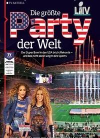 Titelbild der Ausgabe 3/2020 von TV AKTUELL: Die größte Party der Welt. Zeitschriften als Abo oder epaper bei United Kiosk online kaufen.