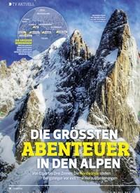Titelbild der Ausgabe 3/2020 von TV AKTUELL: DIE GRÖSSTEN ABENTEUER IN DEN ALPEN. Zeitschriften als Abo oder epaper bei United Kiosk online kaufen.