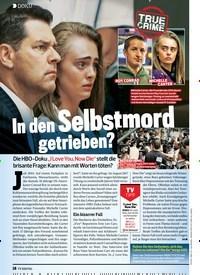 Titelbild der Ausgabe 4/2020 von DOKU: In den Selbstmord getrieben?. Zeitschriften als Abo oder epaper bei United Kiosk online kaufen.