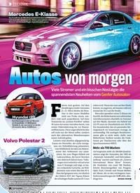 Titelbild der Ausgabe 6/2020 von Autos von morgen. Zeitschriften als Abo oder epaper bei United Kiosk online kaufen.