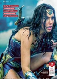 Titelbild der Ausgabe 10/2018 von TOPFILM: Die irre Geschichte der: Wonder Woman. Zeitschriften als Abo oder epaper bei United Kiosk online kaufen.
