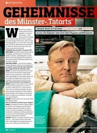 """Titelbild der Ausgabe 11/2018 von INTERVIEW: GEHEIMNISSE des Münster-""""Tatorts"""". Zeitschriften als Abo oder epaper bei United Kiosk online kaufen."""