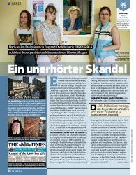 Titelbild der Ausgabe 12/2018 von SERIE: Ein unerhörter Skandal. Zeitschriften als Abo oder epaper bei United Kiosk online kaufen.