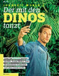 Titelbild der Ausgabe 12/2018 von KINO: JURASSIC WORLD 2: Der mit den DINOS tanzt. Zeitschriften als Abo oder epaper bei United Kiosk online kaufen.