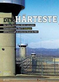 Titelbild der Ausgabe 13/2018 von REPORT: DER HÄRTESTE KNAST DER WELT. Zeitschriften als Abo oder epaper bei United Kiosk online kaufen.