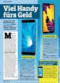 Titelbild der Ausgabe 13/2018 von Viel Handy fürs Geld. Zeitschriften als Abo oder epaper bei United Kiosk online kaufen.