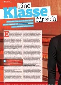 Titelbild der Ausgabe 14/2018 von PORTRÄT: Eine Klasse für sich. Zeitschriften als Abo oder epaper bei United Kiosk online kaufen.