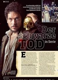 Titelbild der Ausgabe 14/2018 von SERIE: Der schwarze TOD in Serie. Zeitschriften als Abo oder epaper bei United Kiosk online kaufen.
