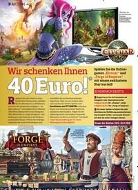 Titelbild der Ausgabe 14/2018 von AKTION: Wir schenken Ihnen 40 Euro!*. Zeitschriften als Abo oder epaper bei United Kiosk online kaufen.