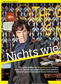 Titelbild der Ausgabe 15/2018 von ENTERTAINMENT: Nichts wie raus!. Zeitschriften als Abo oder epaper bei United Kiosk online kaufen.