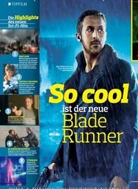 Titelbild der Ausgabe 15/2018 von TOPFILM: So cool ist der neue Blade Runner. Zeitschriften als Abo oder epaper bei United Kiosk online kaufen.