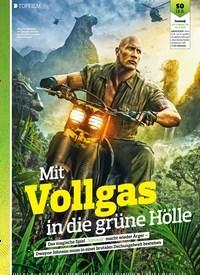 Titelbild der Ausgabe 17/2018 von TOPFILM: Mit Vollgas in die grüne Hölle. Zeitschriften als Abo oder epaper bei United Kiosk online kaufen.