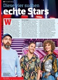 Titelbild der Ausgabe 17/2018 von TV AKTUELL: Diese vier suchen echte Stars. Zeitschriften als Abo oder epaper bei United Kiosk online kaufen.