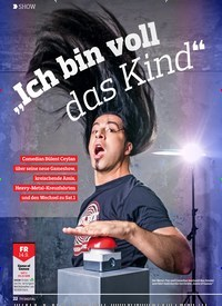 """Titelbild der Ausgabe 18/2018 von SHOW: """"Ich bin voll das Kind"""". Zeitschriften als Abo oder epaper bei United Kiosk online kaufen."""