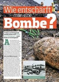 Titelbild der Ausgabe 18/2018 von DOKU: Wie entschärft man eine Bombe ?. Zeitschriften als Abo oder epaper bei United Kiosk online kaufen.