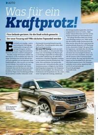Titelbild der Ausgabe 18/2018 von AUTO: Was für ein KraftprotzKraftprotz!. Zeitschriften als Abo oder epaper bei United Kiosk online kaufen.