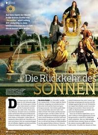 Titelbild der Ausgabe 20/2018 von SERIE: Die Rückkehr des SONNENKÖNIGS. Zeitschriften als Abo oder epaper bei United Kiosk online kaufen.