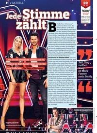 Titelbild der Ausgabe 21/2018 von TV AKTUELL: Jede Stimme zählt. Zeitschriften als Abo oder epaper bei United Kiosk online kaufen.