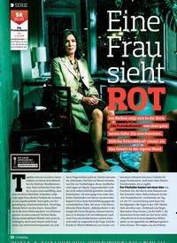 Titelbild der Ausgabe 21/2018 von SERIE: Eine Frau sieht: ROT. Zeitschriften als Abo oder epaper bei United Kiosk online kaufen.