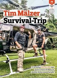 Titelbild der Ausgabe 22/2018 von DOKU: Tim Mälzer auf Survival-Trip. Zeitschriften als Abo oder epaper bei United Kiosk online kaufen.