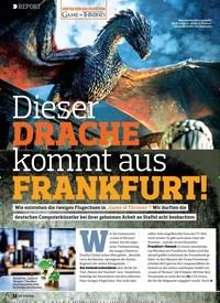 Titelbild der Ausgabe 22/2018 von REPORT: Dieser DRACHE kommt aus FRANKFURT!. Zeitschriften als Abo oder epaper bei United Kiosk online kaufen.