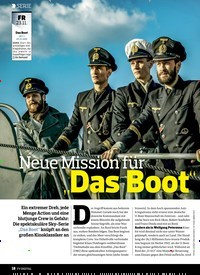"""Titelbild der Ausgabe 23/2018 von SERIE: Neue Mission für """"Das Boot"""". Zeitschriften als Abo oder epaper bei United Kiosk online kaufen."""