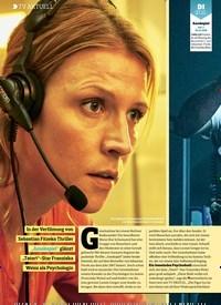 Titelbild der Ausgabe 24/2018 von TV AKTUELL: Spiel auf Leben und Tod. Zeitschriften als Abo oder epaper bei United Kiosk online kaufen.