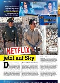 Titelbild der Ausgabe 26/2018 von TECHNIK: NETFLIX jetzt auf sky. Zeitschriften als Abo oder epaper bei United Kiosk online kaufen.