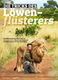 Titelbild der Ausgabe 4/2019 von DOKU: DIE TRICKS DES Lowen- flüsterers. Zeitschriften als Abo oder epaper bei United Kiosk online kaufen.