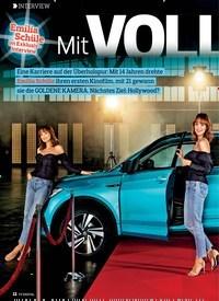 Titelbild der Ausgabe 6/2019 von INTERVIEW: Emilia Schüle im Exklusiv-Interview: Mit VOLLGAS nach oben. Zeitschriften als Abo oder epaper bei United Kiosk online kaufen.
