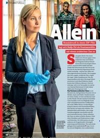Titelbild der Ausgabe 6/2019 von TV AKTUELL: Allein gegen den Clan. Zeitschriften als Abo oder epaper bei United Kiosk online kaufen.
