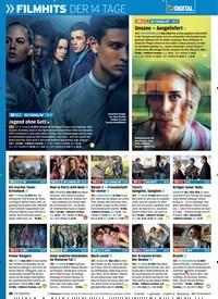 Titelbild der Ausgabe 6/2019 von »FILMHITS DER 14 TAGE. Zeitschriften als Abo oder epaper bei United Kiosk online kaufen.