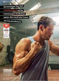 Titelbild der Ausgabe 7/2019 von ENTERTAINMENT:SUPERHELDEN-WORK-OUT. Zeitschriften als Abo oder epaper bei United Kiosk online kaufen.