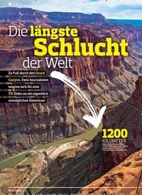 Titelbild der Ausgabe 7/2019 von DOKU: Die längste Schlucht: der Welt. Zeitschriften als Abo oder epaper bei United Kiosk online kaufen.