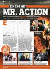 Titelbild der Ausgabe 7/2019 von TOPFILM: EIN TAG MIT MR. ACTION. Zeitschriften als Abo oder epaper bei United Kiosk online kaufen.