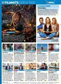 Titelbild der Ausgabe 7/2019 von FILMHITS DER 14 TAGE. Zeitschriften als Abo oder epaper bei United Kiosk online kaufen.