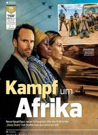 Titelbild der Ausgabe 9/2019 von SERIE: Kampf um Afrika. Zeitschriften als Abo oder epaper bei United Kiosk online kaufen.
