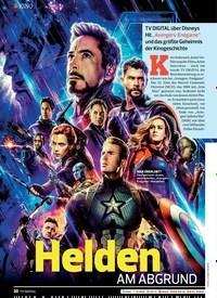 Titelbild der Ausgabe 9/2019 von KINO: Helden AM ABGRUND. Zeitschriften als Abo oder epaper bei United Kiosk online kaufen.