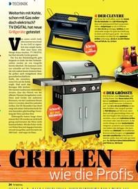 Titelbild der Ausgabe 9/2019 von TECHNIK: GRILLEN wie die Profis. Zeitschriften als Abo oder epaper bei United Kiosk online kaufen.