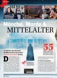 Titelbild der Ausgabe 10/2019 von SERIE: Mönche, Morde & MITTELALTER. Zeitschriften als Abo oder epaper bei United Kiosk online kaufen.