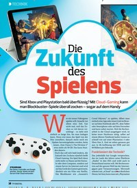 Titelbild der Ausgabe 10/2019 von Die Zukunft des Spielens. Zeitschriften als Abo oder epaper bei United Kiosk online kaufen.