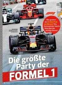 Titelbild der Ausgabe 10/2019 von Die größte Party der FORMEL 1. Zeitschriften als Abo oder epaper bei United Kiosk online kaufen.