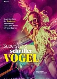Titelbild der Ausgabe 11/2019 von KINO: Superstar & schriller VOGEL. Zeitschriften als Abo oder epaper bei United Kiosk online kaufen.