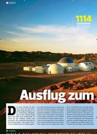 Titelbild der Ausgabe 12/2019 von DOKU: Ausflug zum Mars. Zeitschriften als Abo oder epaper bei United Kiosk online kaufen.
