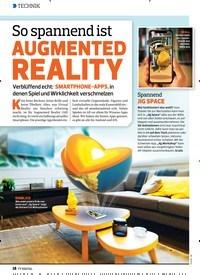 Titelbild der Ausgabe 12/2019 von So spannend ist AUGMENTED REALITY. Zeitschriften als Abo oder epaper bei United Kiosk online kaufen.