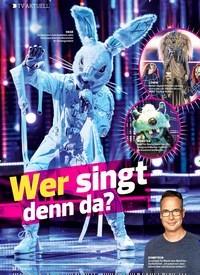 Titelbild der Ausgabe 13/2019 von TV AKTUELL: Wer singt denn da?. Zeitschriften als Abo oder epaper bei United Kiosk online kaufen.