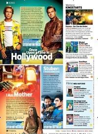 Titelbild der Ausgabe 17/2019 von Once Upon a Time in Hollywood. Zeitschriften als Abo oder epaper bei United Kiosk online kaufen.