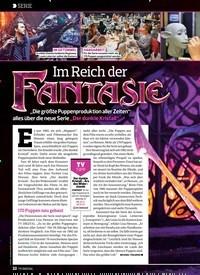 Titelbild der Ausgabe 18/2019 von SERIE: Im Reich der: FANTASIE. Zeitschriften als Abo oder epaper bei United Kiosk online kaufen.